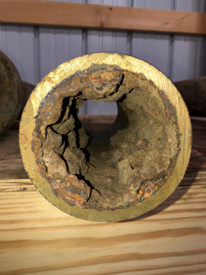 Cast iron pipe repair