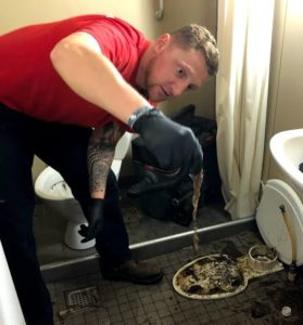 Rooter Now Plumbing Experts clogged drain