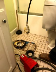 RooterNow clogged drain services